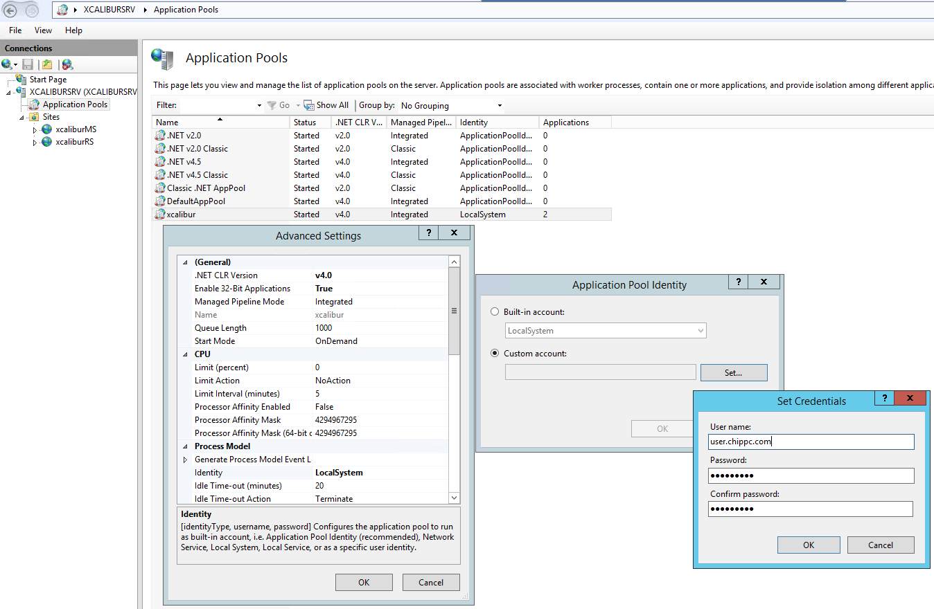 Configuring Sql Server With Ad Authentication Chippc Xcalibur W Wiki